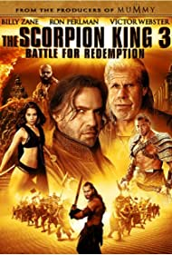 Ron Perlman, Billy Zane, Victor Webster, Dave Bautista, Krystal Vee, and Kevin 'Kimbo Slice' Ferguson in The Scorpion King 3: Battle for Redemption (2012)