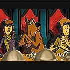 Matthew Lillard, Grey Griffin, and Frank Welker in Scooby-Doo! Abracadabra-Doo (2010)