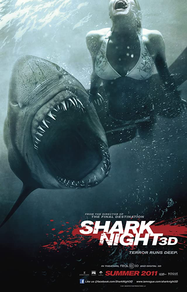 Shark Night (2011) Dual Audio Hindi 300MB BluRay 480px264 ESubs