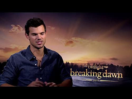 IMDb Original Interview: Taylor Lautner for Breaking Dawn Part 2