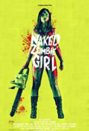 Naked Zombie Girl Poster