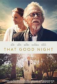 John Hurt, Charles Dance, and Sofia Helin in That Good Night (2017)