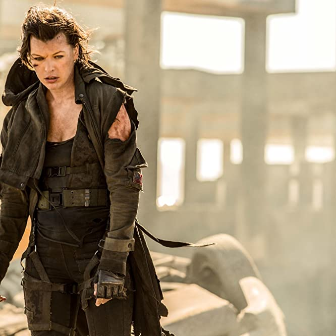 Milla Jovovich in Resident Evil: The Final Chapter (2016)
