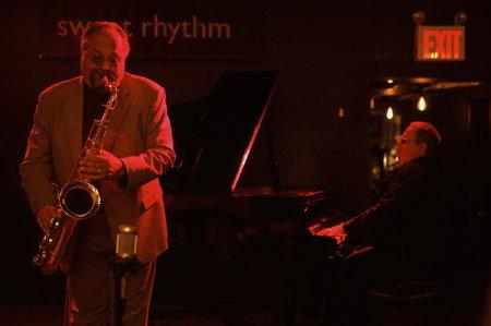 Joe Lovano and Kenny Werner.