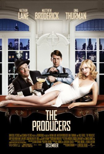 Matthew Broderick, Uma Thurman, and Nathan Lane in The Producers (2005)