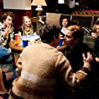 Logan Lerman, Emma Watson, Mae Whitman, Reece Thompson, Ezra Miller, Adam Hagenbuch, and Erin Wilhelmi in The Perks of Being a Wallflower (2012)