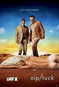 Julian McMahon and Dylan Walsh in Nip/Tuck (2003)