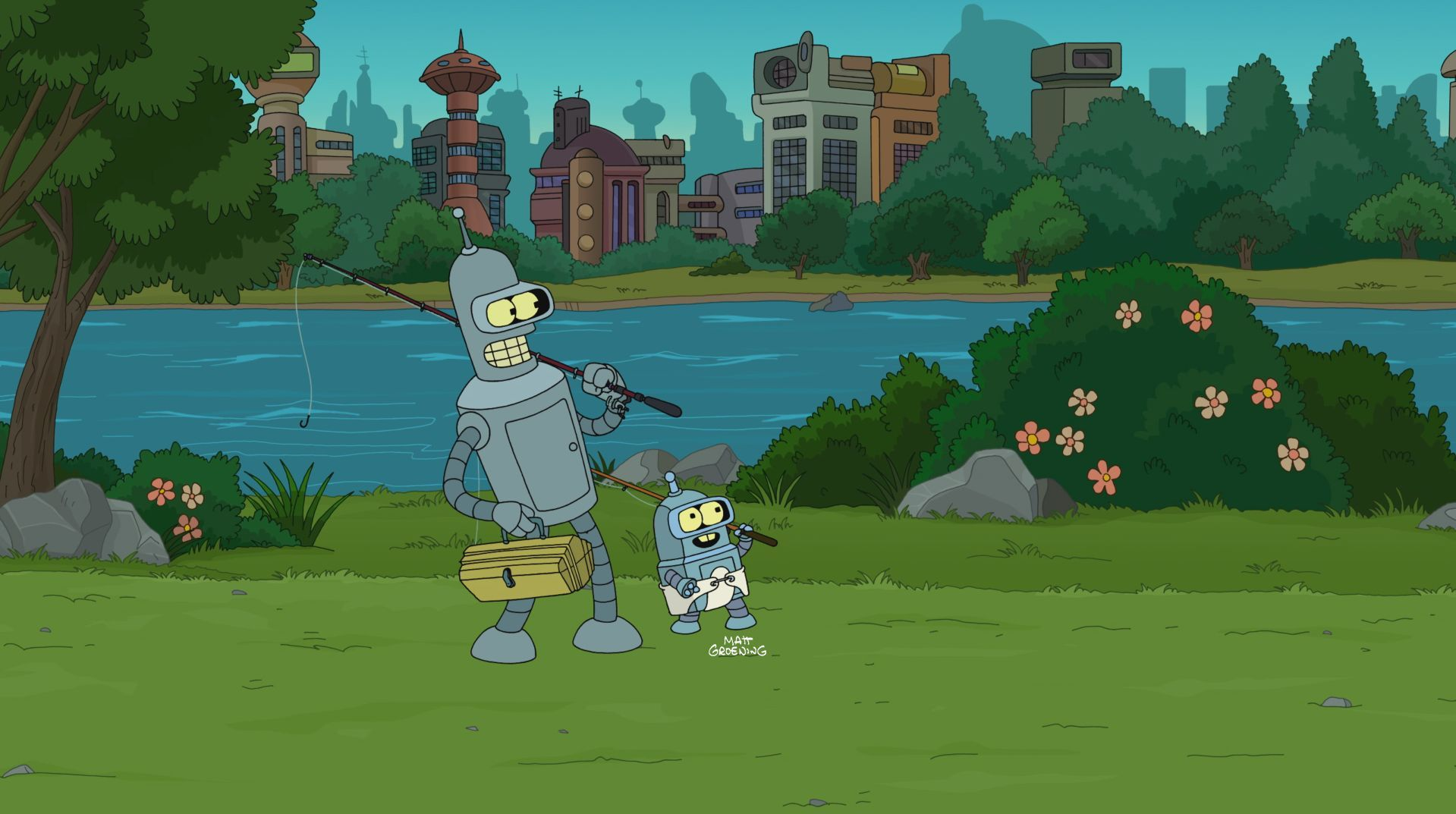 Futurama The Bots And The Bees Tv Episode 2012 Imdb