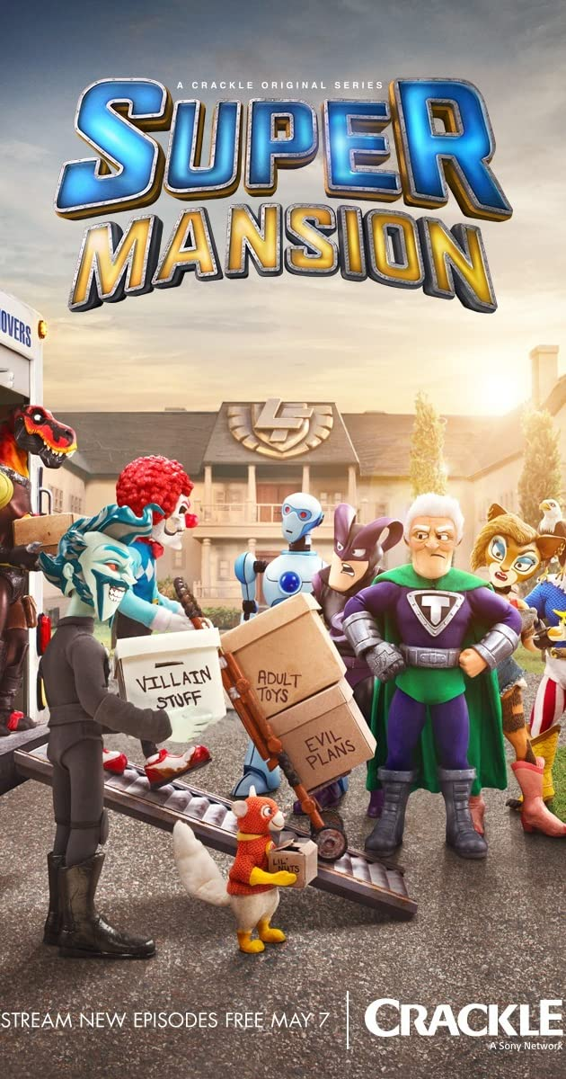 SuperMansion (TV Series 2015u2013 )   IMDb