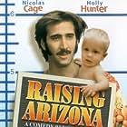 Nicolas Cage and T.J. Kuhn in Raising Arizona (1987)