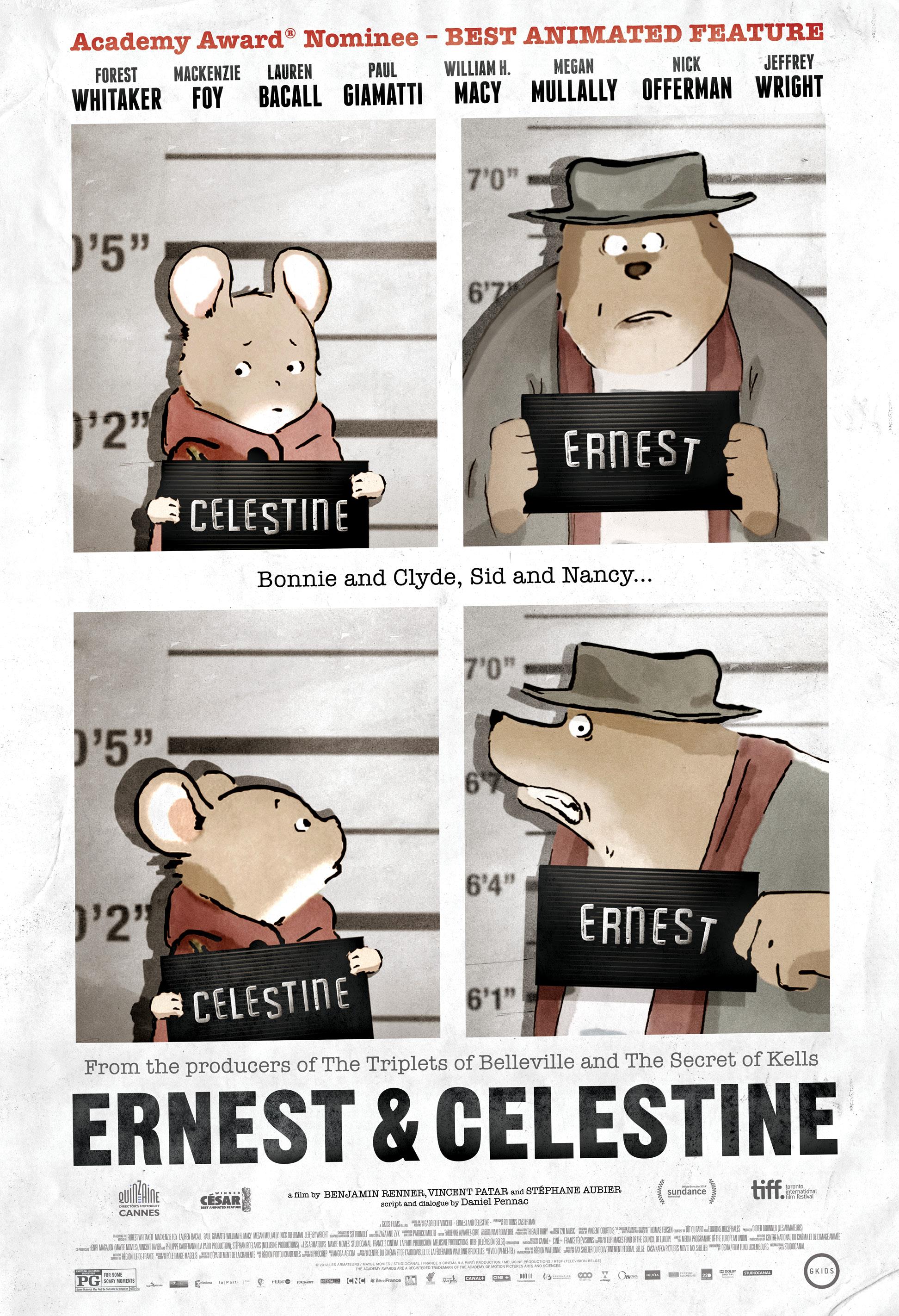 Ernest Celestine 2012 Imdb