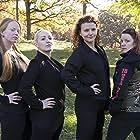 Emma Mentley, Sarah Oberbroeckling, Daniele Halfhill, and Kelli Schubert in Black Friday (2017)