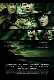 Milla Jovovich, Steve Zahn, Marley Shelton, Timothy Olyphant, Kiele Sanchez, and Chris Hemsworth in A Perfect Getaway (2009)