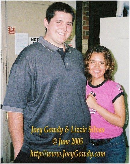 Joey Gowdy and Liz Silvas in Houston Texas in June 2005.