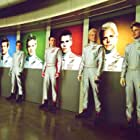 Lex Shrapnel, Philip Winchester, Brady Corbet, Dominic Colenso, and Ben Torgersen in Thunderbirds (2004)