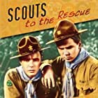 Frank Coghlan Jr. and Jackie Cooper in Scouts to the Rescue (1939)
