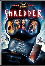 Shredder Poster