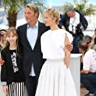Delphine Chuillot, Mads Mikkelsen, and Mélusine Mayance at an event for Michael Kohlhaas (2013)