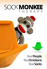 Sock Monkee Therapy Poster
