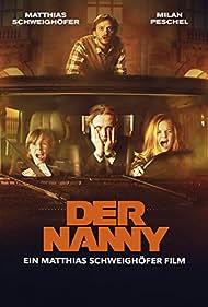 Milan Peschel, Matthias Schweighöfer, Paula Hartmann, and Arved Friese in Der Nanny (2015)