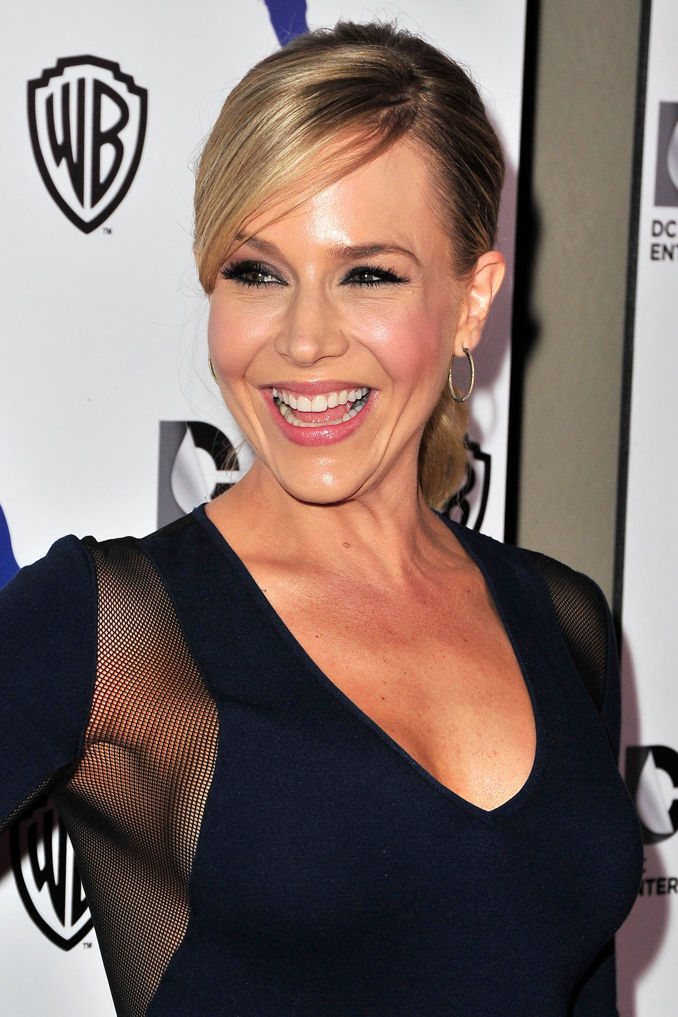 Julie Benz at an event for Man of Steel (2013)