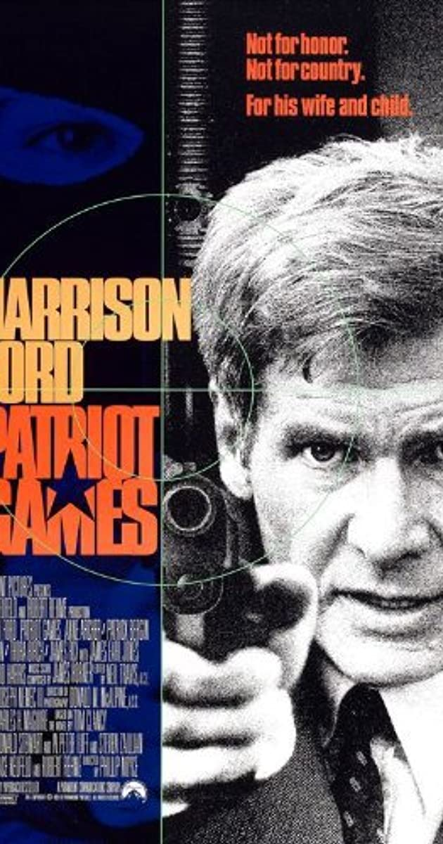 Patriot Games 1992 Imdb
