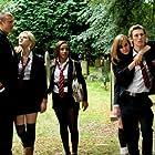 April Pearson, Alex Pettyfer, Larissa Wilson, Georgia King, and Tom Hopper in Tormented (2009)