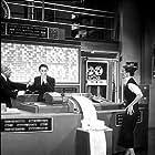 "5758-4 Katharine Hepburn and Spencer Tracy in ""Desk Set"""