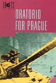 Oratorio for Prague Poster