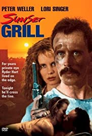 Sunset Grill Poster