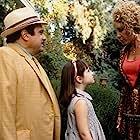 Danny DeVito, Rhea Perlman, and Mara Wilson in Matilda (1996)