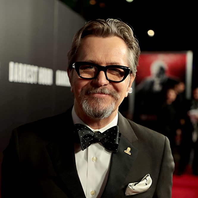 Gary Oldman at an event for Darkest Hour (2017)