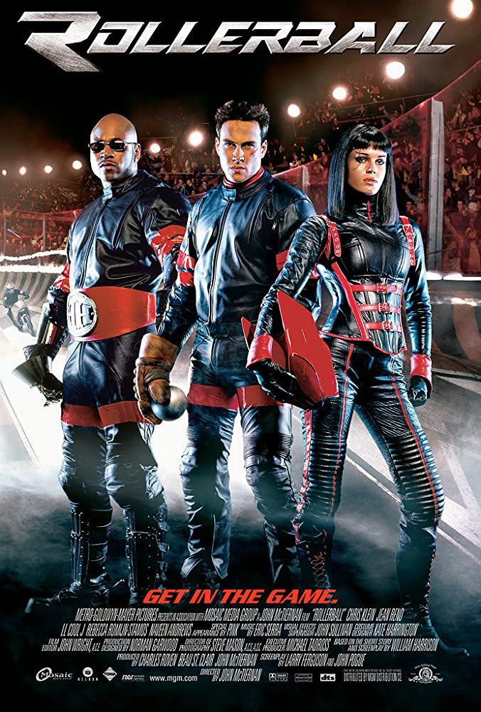 Chris Klein, LL Cool J, and Rebecca Romijn in Rollerball (2002)