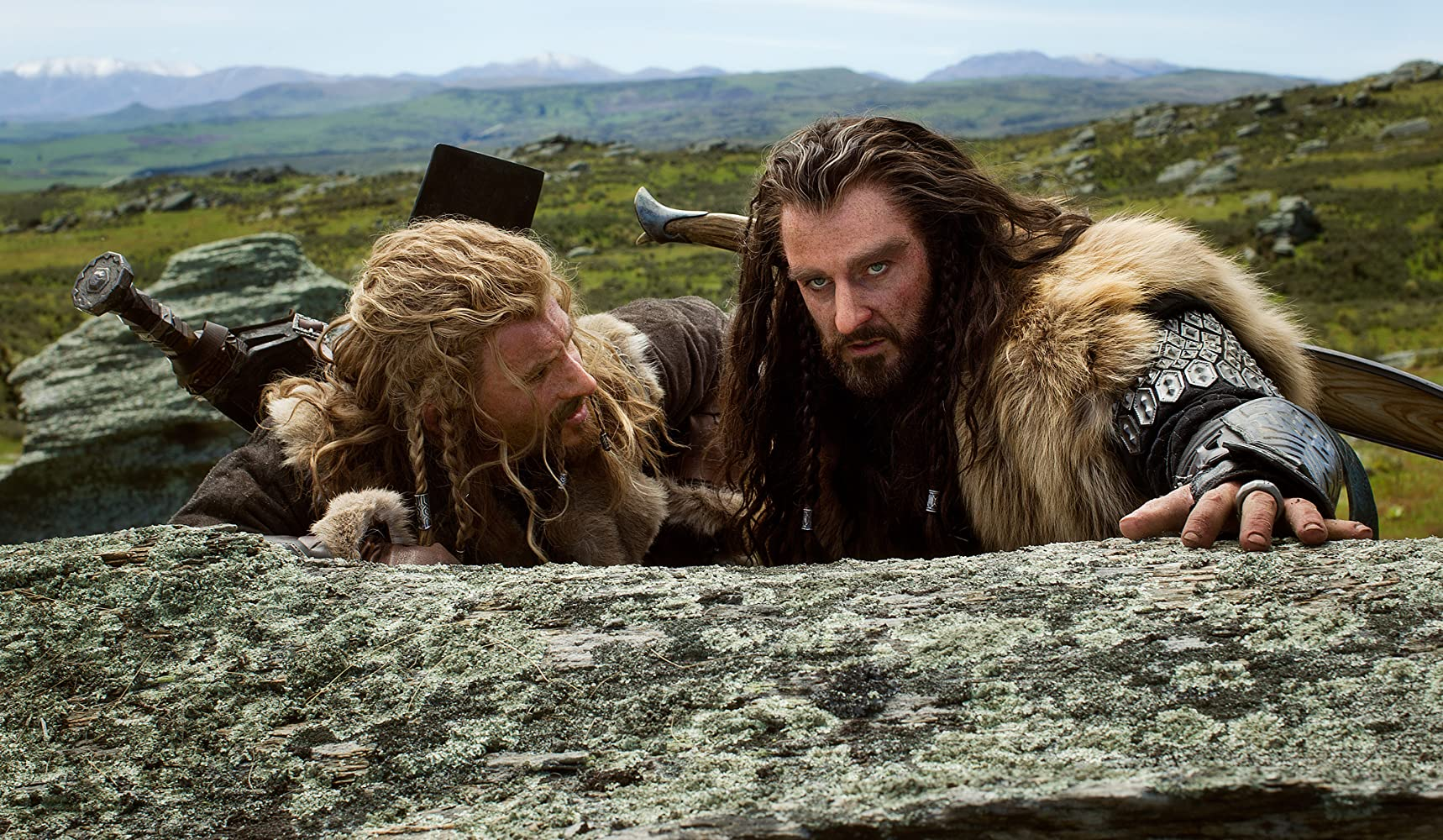 Richard Armitage and Dean O'Gorman in The Hobbit: An Unexpected Journey (2012)