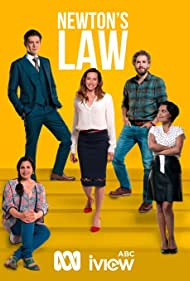 Claudia Karvan, Georgina Naidu, Brett Tucker, Toby Schmitz, and Miranda Tapsell in Newton's Law (2017)