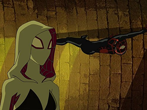 Ogie Banks and Dove Cameron in Ultimate Spider-Man (2012)