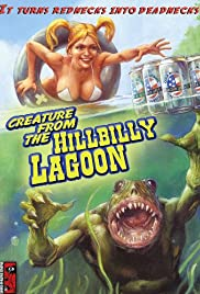 Creature from the Hillbilly Lagoon Poster