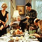 Jenna Elfman, Thomas Gibson, Mimi Kennedy, Alan Rachins, Mitchell Ryan, and Susan Sullivan in Dharma & Greg (1997)