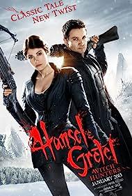 Jeremy Renner and Gemma Arterton in Hansel & Gretel: Witch Hunters (2013)