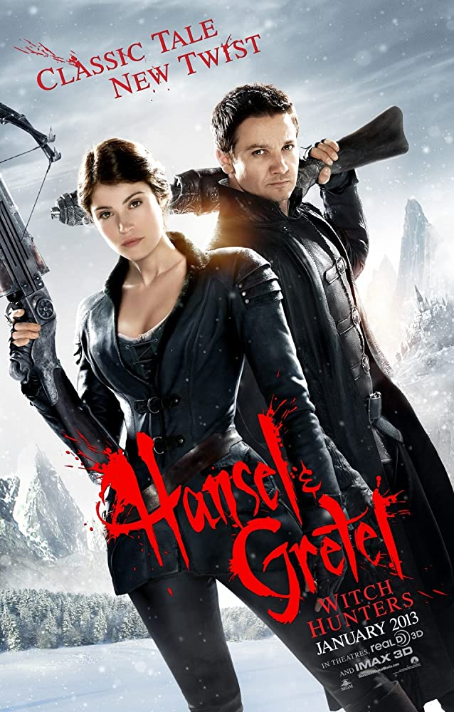 Hansel and Gretel Witch Hunters (2013) Dual Audio Hindi 300MB BluRay 480p x264 1