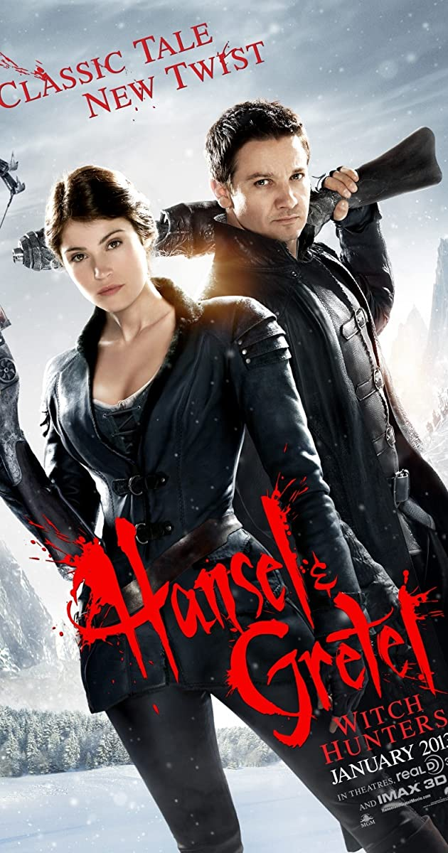 Subtitle of Hansel & Gretel: Witch Hunters