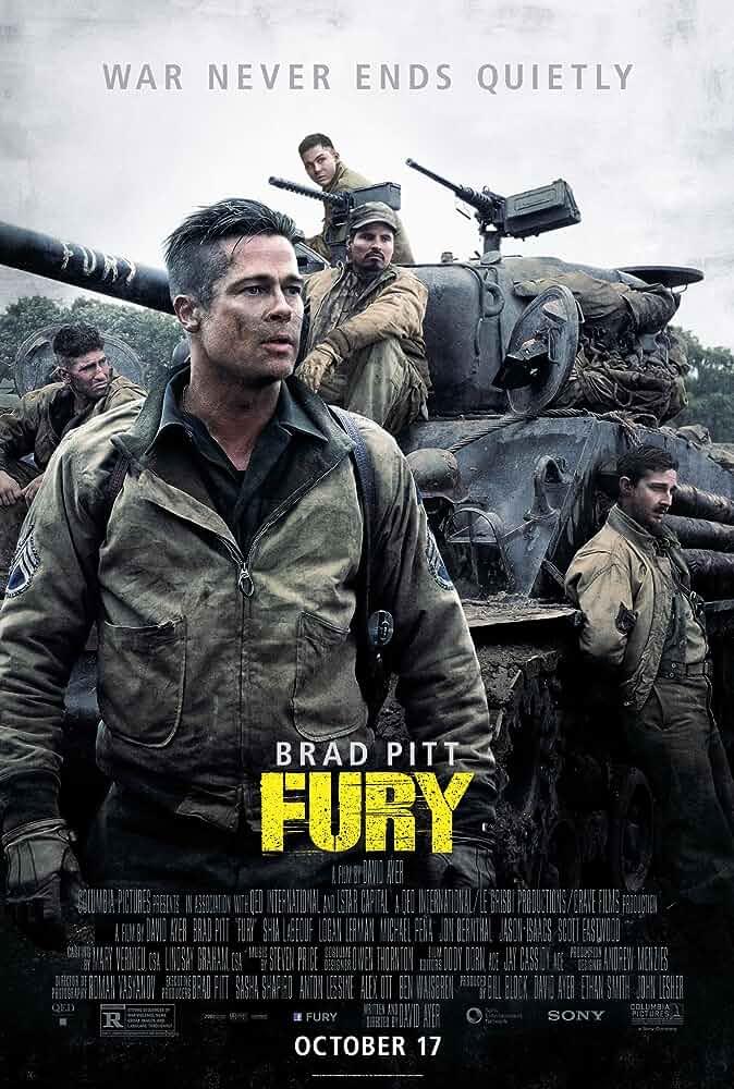 Fury (2014) Hindi Dubbed