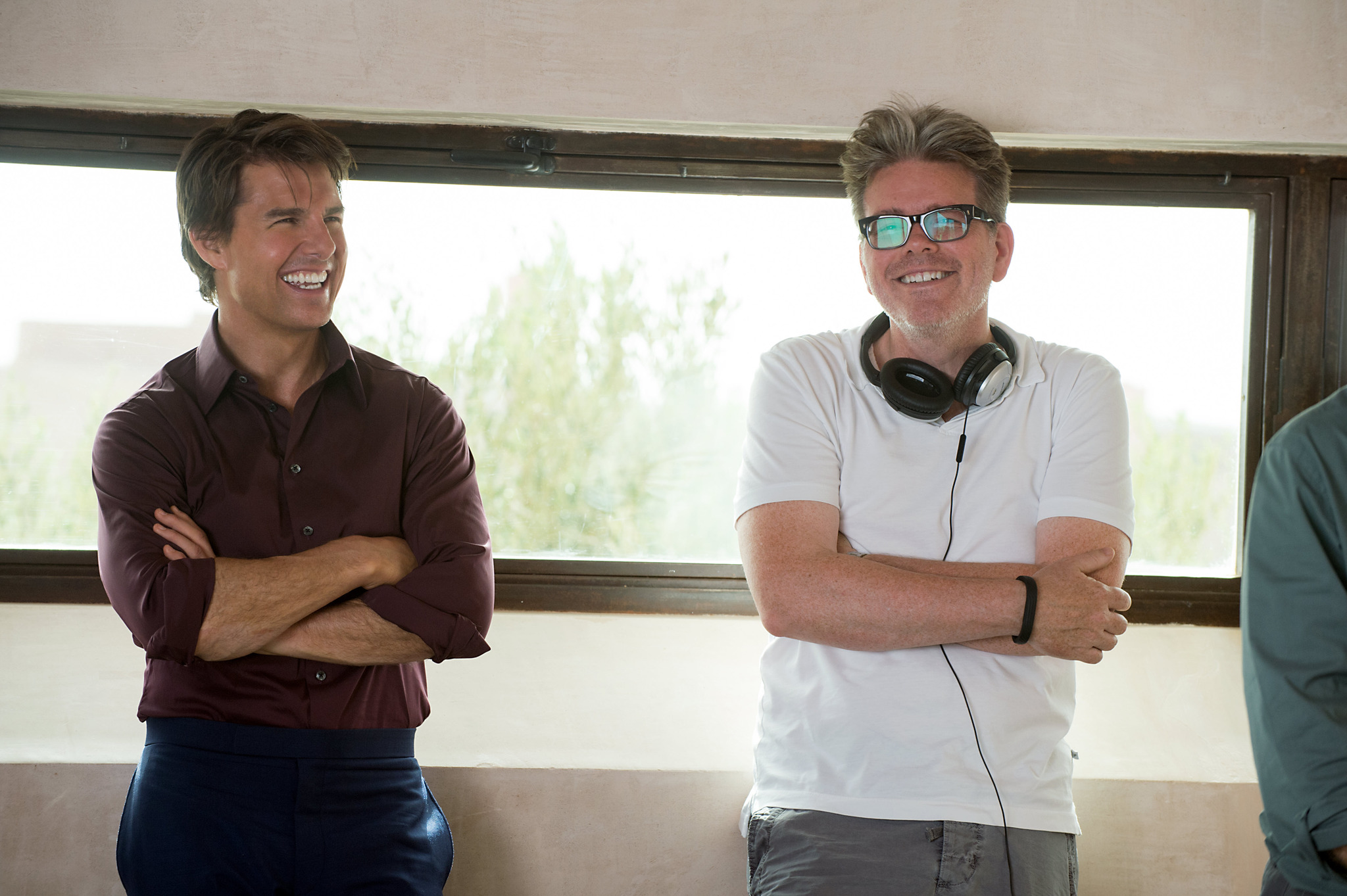 Tom Cruise and Christopher McQuarrie in Mission: Impossible - Rogue Nation (2015)