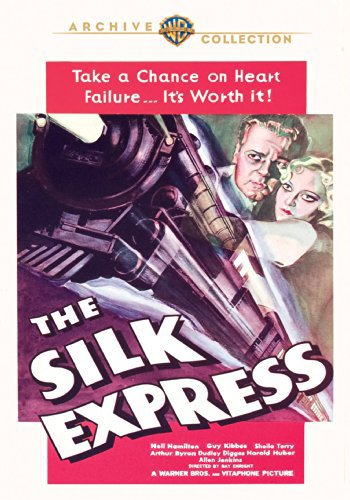 Neil Hamilton and Sheila Terry in The Silk Express (1933)