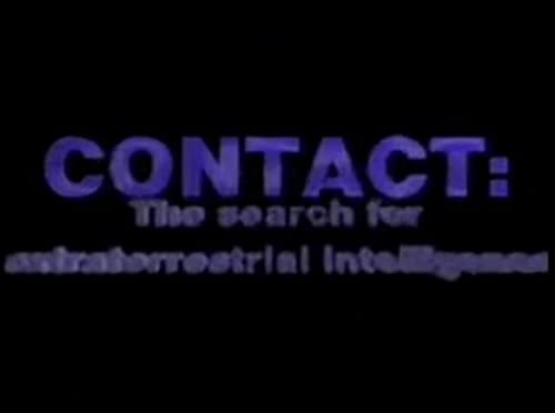 Contacto: La búsqueda para la inteligencia extraterrestre