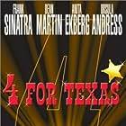 Frank Sinatra, Ursula Andress, Anita Ekberg, and Dean Martin in 4 for Texas (1963)