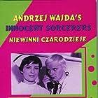 Tadeusz Lomnicki, Krystyna Stypulkowska, and Teresa Szmigielówna in Niewinni czarodzieje (1960)