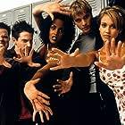 Vivica A. Fox, Seth Green, Devon Sawa, Jessica Alba, and Elden Henson in Idle Hands (1999)