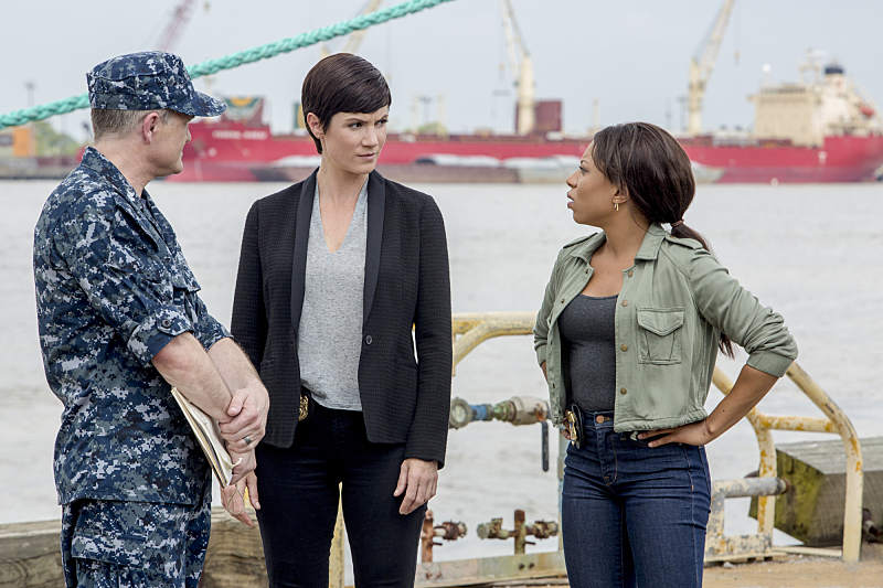 Brett Baker, Zoe McLellan, and Shalita Grant in NCIS: New Orleans (2014)