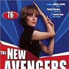 Patrick Macnee, Gareth Hunt, and Joanna Lumley in The New Avengers (1976)